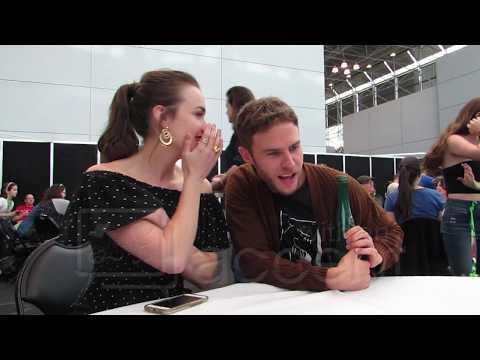 NYCC 2017: Agents of SHIELD stars Elizabeth Henstridge & Iain De Caestecker