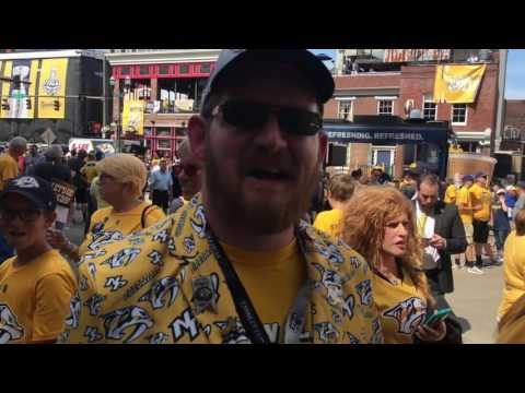 What Nashville was like before Stanley Cup Final Game 3 (Yahoo Sports)
