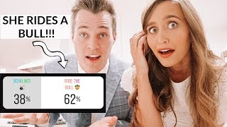 INSTAGRAM CONTROLS OUR DATE NIGHT