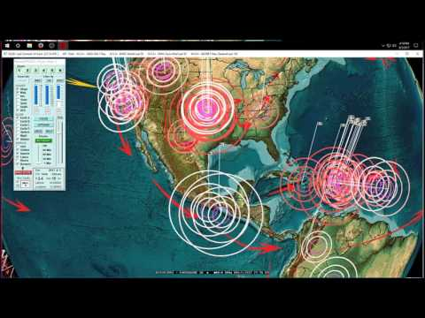 8/05/2017 -- Midwest USA Earthquake unrest + New Zealand earthquake forecast direct hit