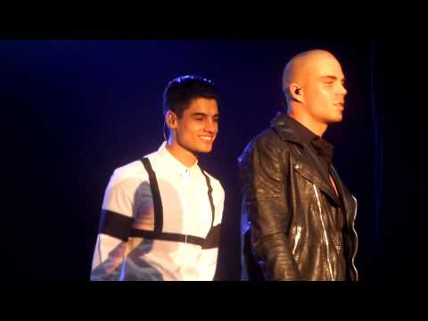 The Wanted - Show Me Love (Live at Word of Mouth Tour)