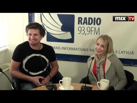 Mix TV: Ольга Суконникова и Эрик Стендзениекс