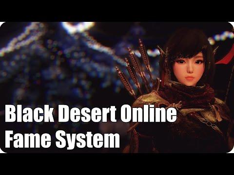 Black Desert Online: Fame System