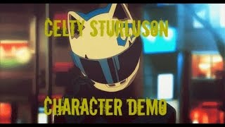 Celty Sturluson Character demo // Durarara // PhoenixSunVA