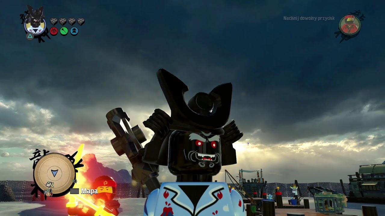 WSZYSTKIE POSTACIE WYGLĄD GARMADONA W LEGO NINJAGO MOVIE FILM GRA