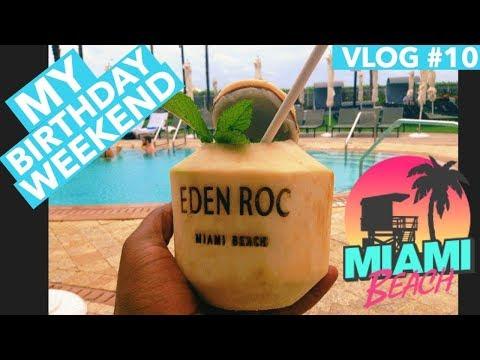 (2019) Eden Roc All Inclusive Resort Miami Beach Panoramic Ocean Suite Vlog#10