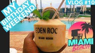 (2020) Eden Roc All Inclusive Resort Miami Beach Panoramic Ocean Suite Vlog#10