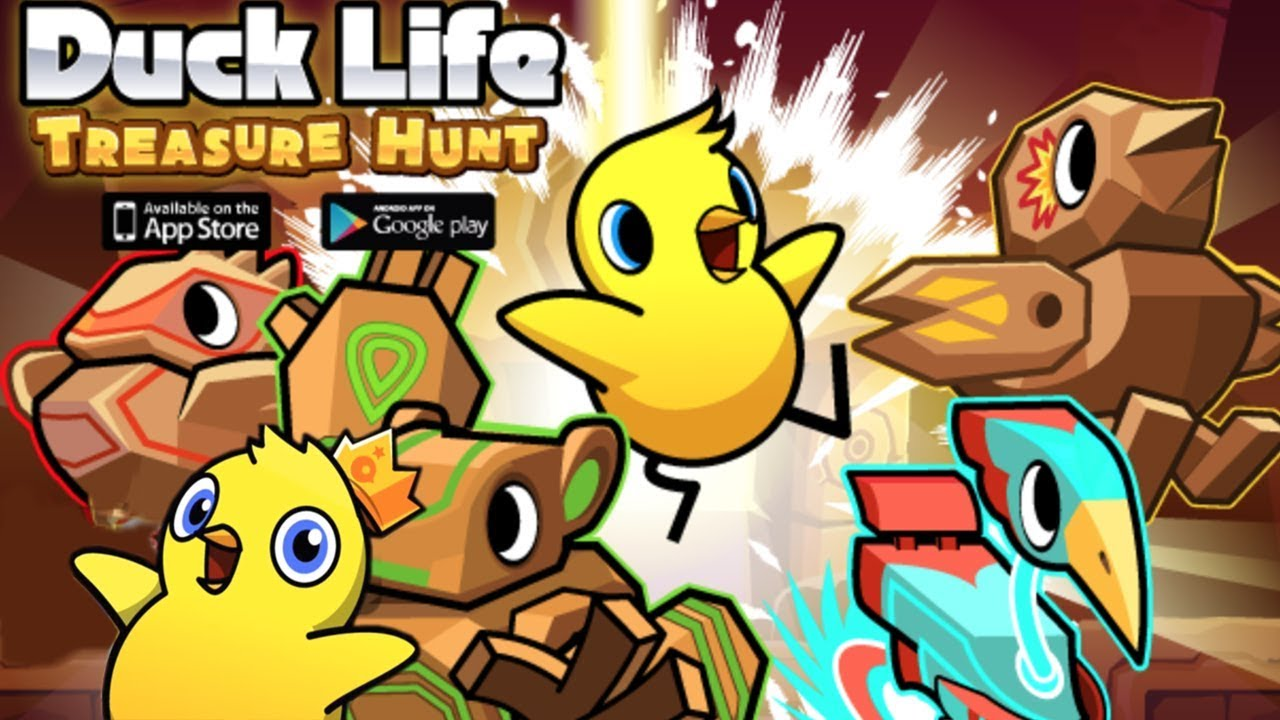 DUCK LIFE 5 - GAMEPLAY