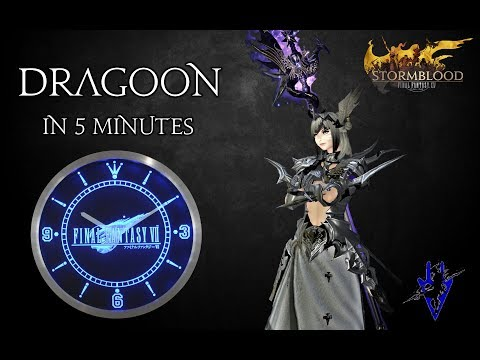 FFXIV - Dragoon/DRG in 5 minutes (Job overview)