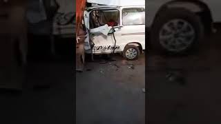 Accident in bhalwal sargodha