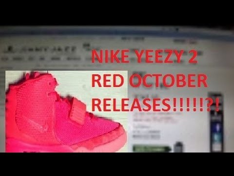 c4691071e7a Nike AIr Yeezy 2 Red October RELEASED!? - YouTube
