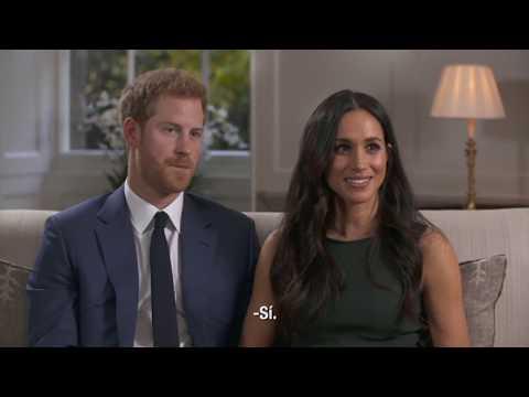 Primera entrevista del prncipe Harry y Meghan Markle tras su anuncio de compromiso (subtitulada)