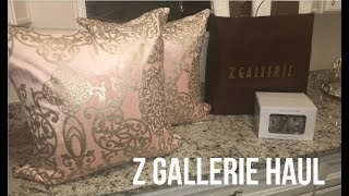 Z GALLERIE HOME DECOR HAUL I LUXE/GLAM I SUMMER 2018