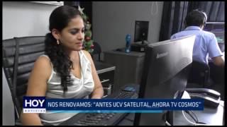 """Trujillo: Nos renovamos """"Antes UCV Satelital, ahora TV Cosmos"""""""