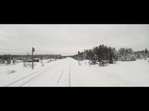 Как видит машинист поезда
