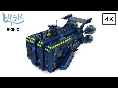 LEGO Movie 2 70839 The Rexcelsior! - Lego Speed Build 4K