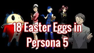18 Easter Eggs in Persona 5 [#11-18]