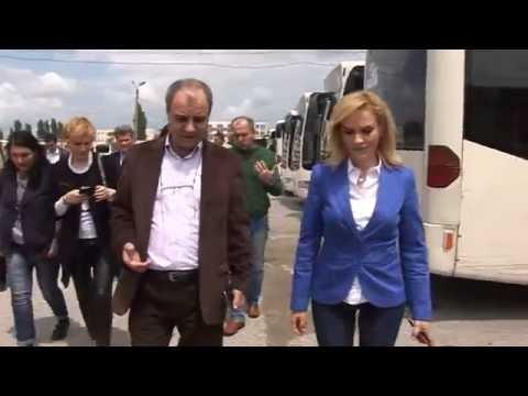 Gabriela Firea la Autobaza RATB Titan - 27.05.2016
