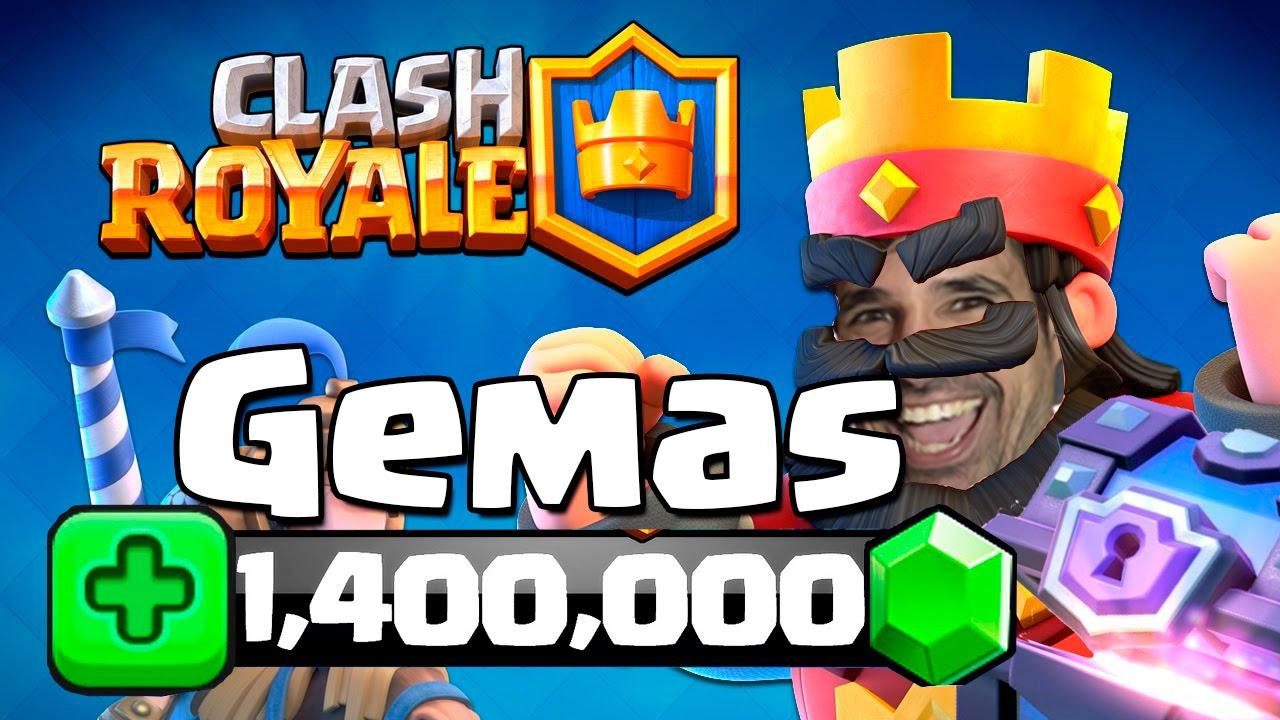 FREE GEMS CLASH ROYALE - YouTube