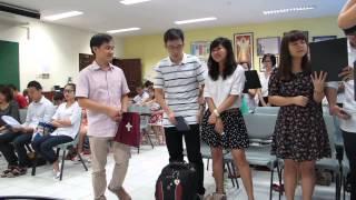 NIỀM VUI TẬN HIẾN - Cộng đoàn VNCSS (Singapore)