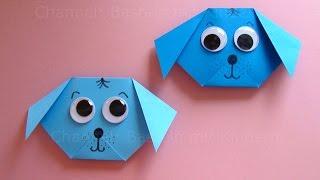 Download Video Origami: Hund falten mit Papier - Einfachen Hund Basteln mit Kindern - DIY Origami Tiere MP3 3GP MP4