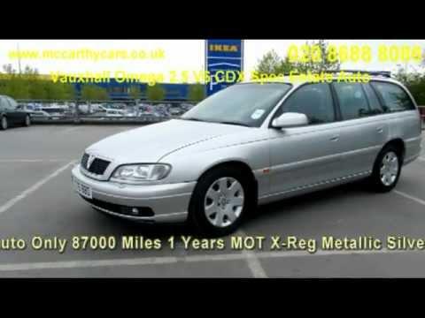 Vauxhall Omega 2.5 V6 CDX Spec Estate Auto X276 McCarthy Cars