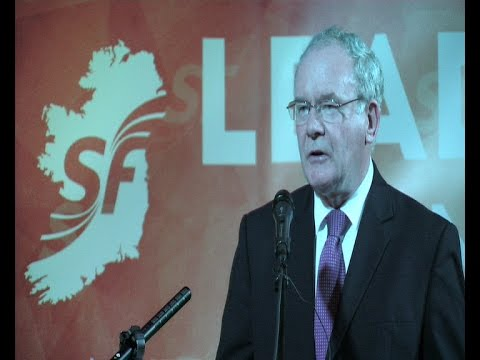 Martin McGuinness keynote address to Sinn Féin activists