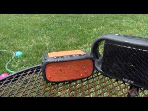 ECOROX Waterproof Bluetooth Speaker by Grace Digital