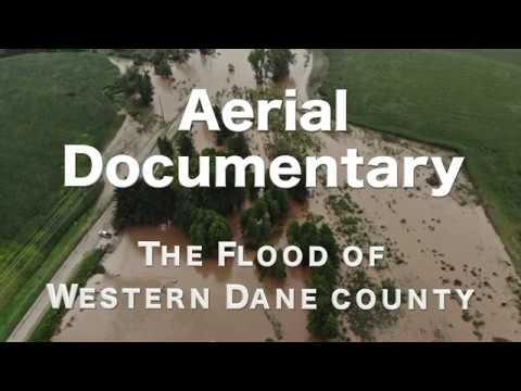 AERIAL DOCUMENTARY - Dane County Flood (4K Drone Video)