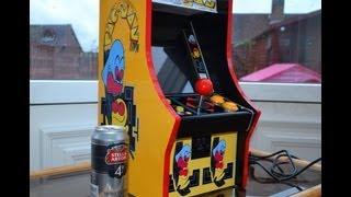 PAC-MAN Mini Arcade Machine Cabinet