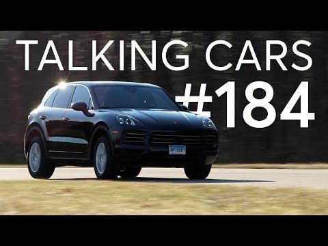 2019 Porsche Cayenne Test Results; Worn Tire Wet Weather Performance | Talking Cars #184