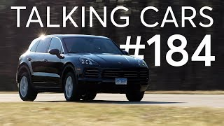 2019 Porsche Cayenne Test Results; Worn Tire Wet Weather Performance | Talking Cars #184