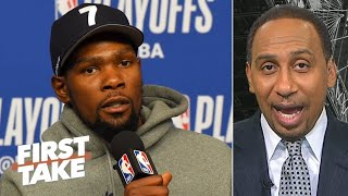 Kevin Durant: 'The Knicks SUCK' Stephen A and Max Reacts | NBA