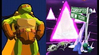 TMNT Portal Power #8  игра мультик  о черепашках  Черепашки Ниндзя Сила порталов #Мобильные игры
