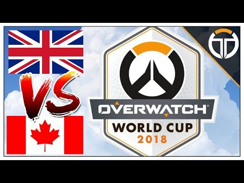 ►CANADA VS ANGLETERRE : BRONZE WORLD CUP 2018◄ OVERWATCH FR