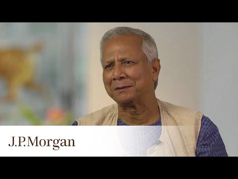 Muhammad Yunus On Youth Unemployment and Entrepreneurism | J.P. Morgan