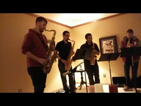 Dango Daikazoku - Saxophone Quartet