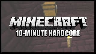 Awesome Treasure In Nether Fortresses! || 10-Minute Hardcore Minecraft (1.6.1) #23