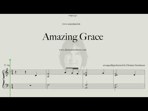 "How to play ""Amazing Grace"" on the Piano"