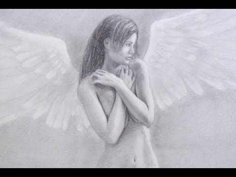 Aprender a dibujar: cómo dibujar un ángel realista - Arte Divierte