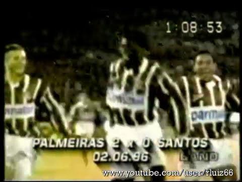 Gols Cléber - Zagueiro Palmeiras - Década de 90