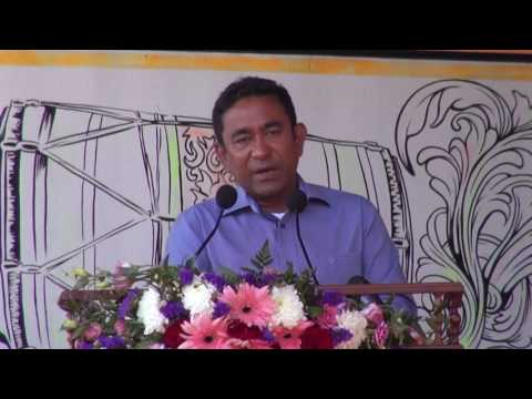 Function held to mark the completion of Himmafushi Land Reclamation Project