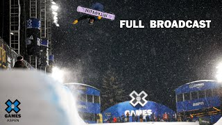 LIVESTREAM: Monster Energy Men's Snowboard SuperPipe Elimination | X Games Aspen 2020