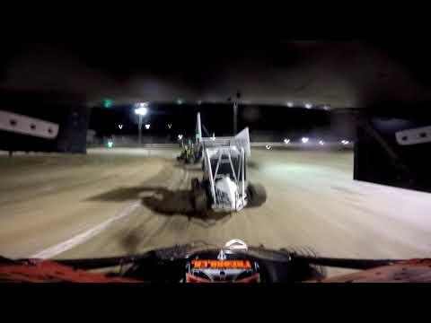 Delta Speedway Turkey Bowl 10/27/18 Jr Sprint Main GoPro