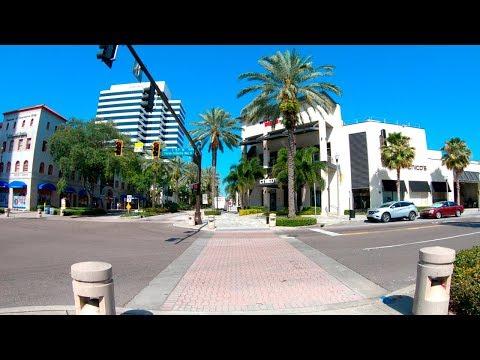 St. Petersburg, Florida, USA | Downtown - Walking Tour