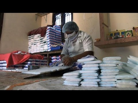Rural India's low-cost sanitary pad revolution