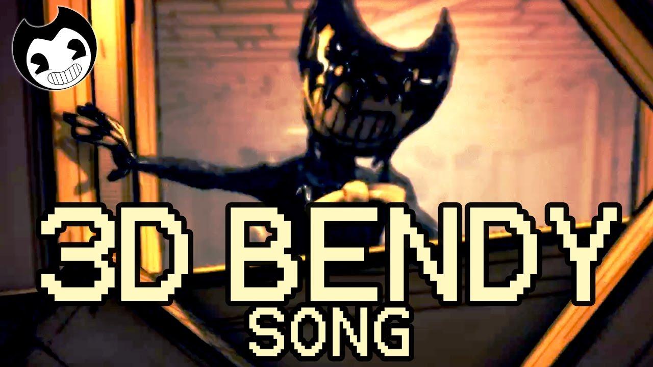 Bendy And The Ink Machine Batim 3d Bendy By Adam Hoek Youtube