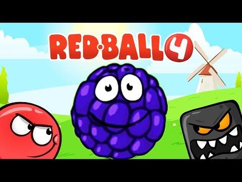 RED BALL 4 КРАСНЫЙ ШАРИК...
