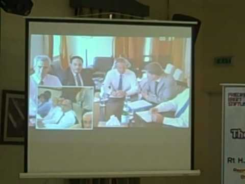 Face the Public - Third session With Mr. Tony Blair via video conference