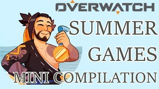 Summer Games Mini Compilation! (Overwatch Comic Dub)